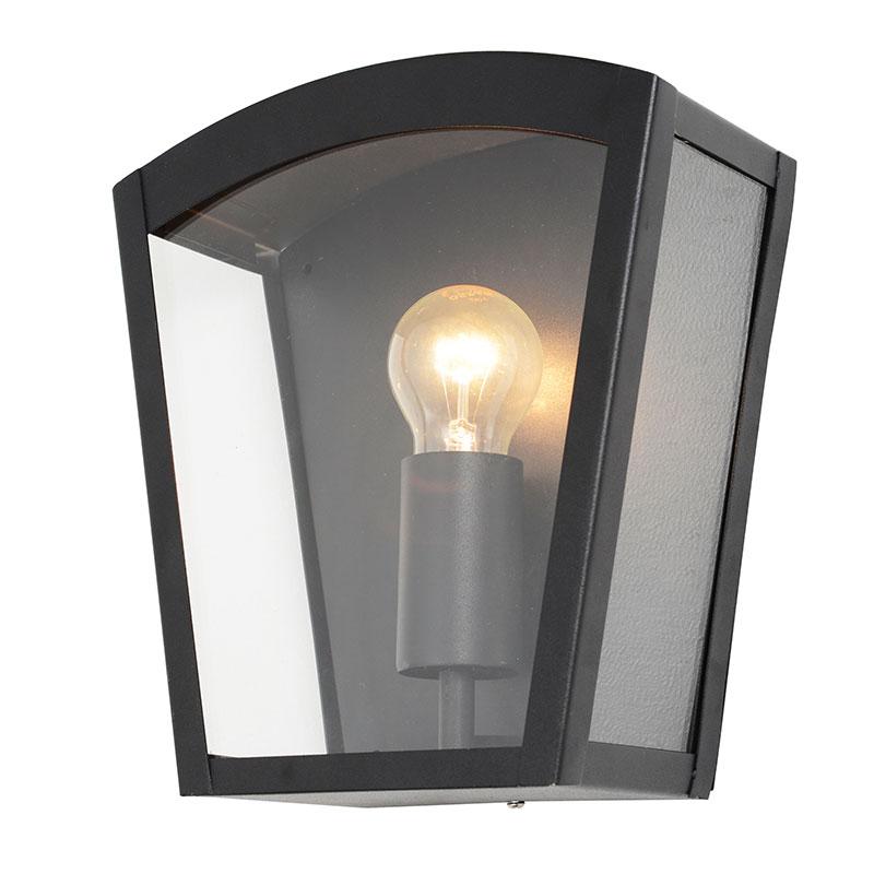 Twin Wall Lights Garden : Outdoor IP44 Twin Wall Lantern Modern Garden External Lights Steel Litecraft eBay