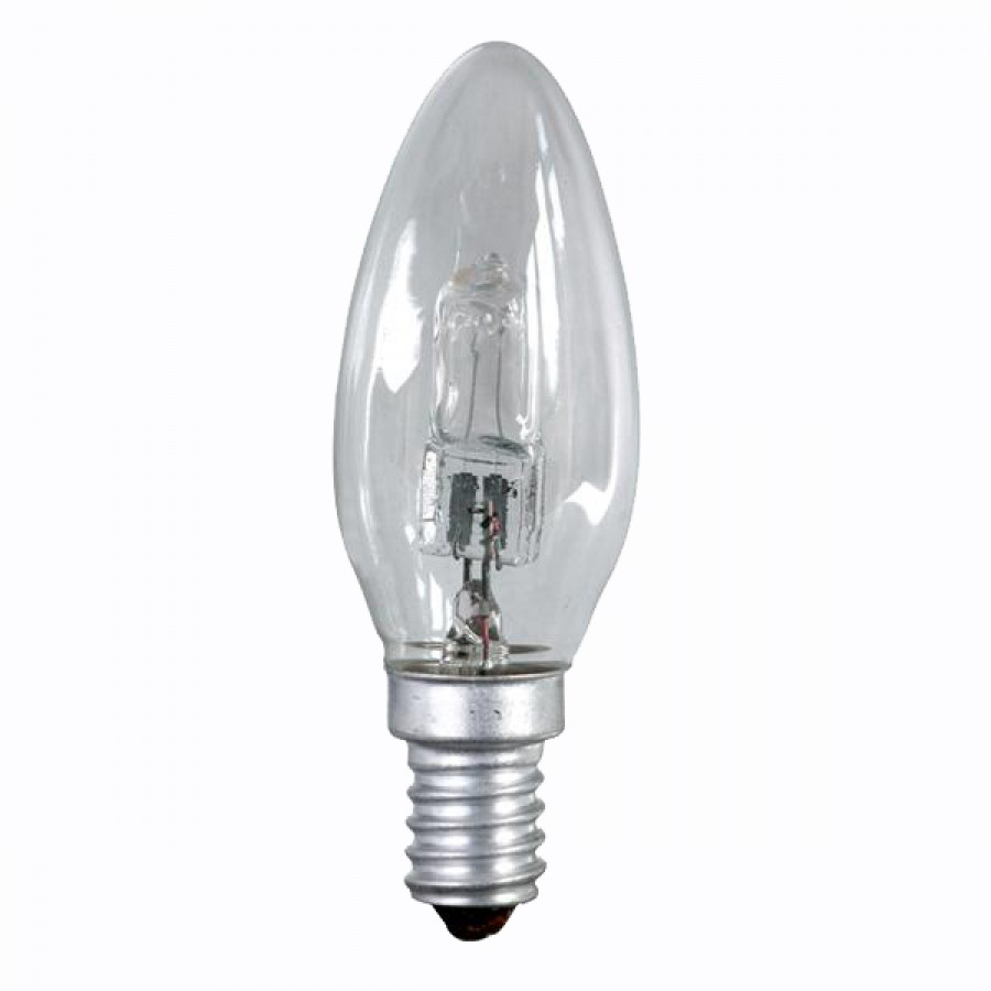 Litecraft 28w E14 Ses C35 Halogen Candle Light Bulb Clear Transparent Ebay