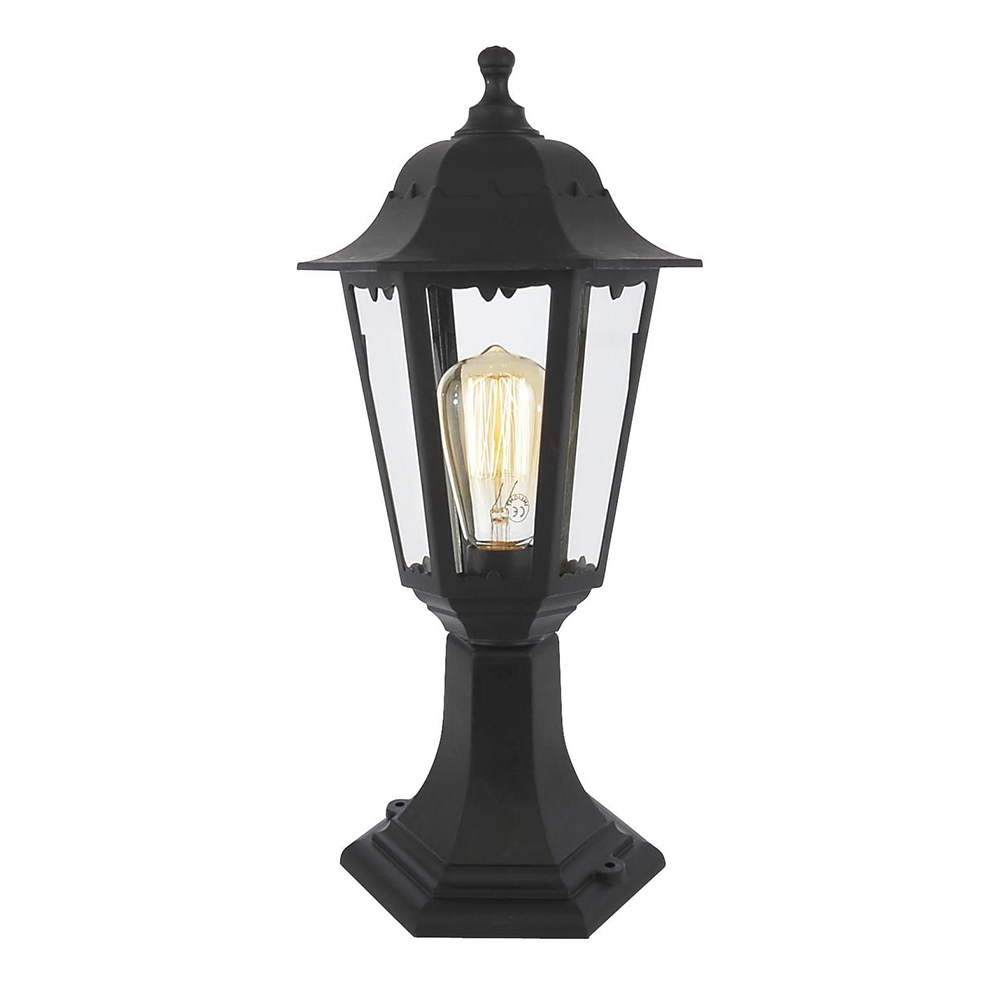 Outdoor Lamp Clearance: Outdoor Lamp Post Lantern Black Poly Carbonate Walkway