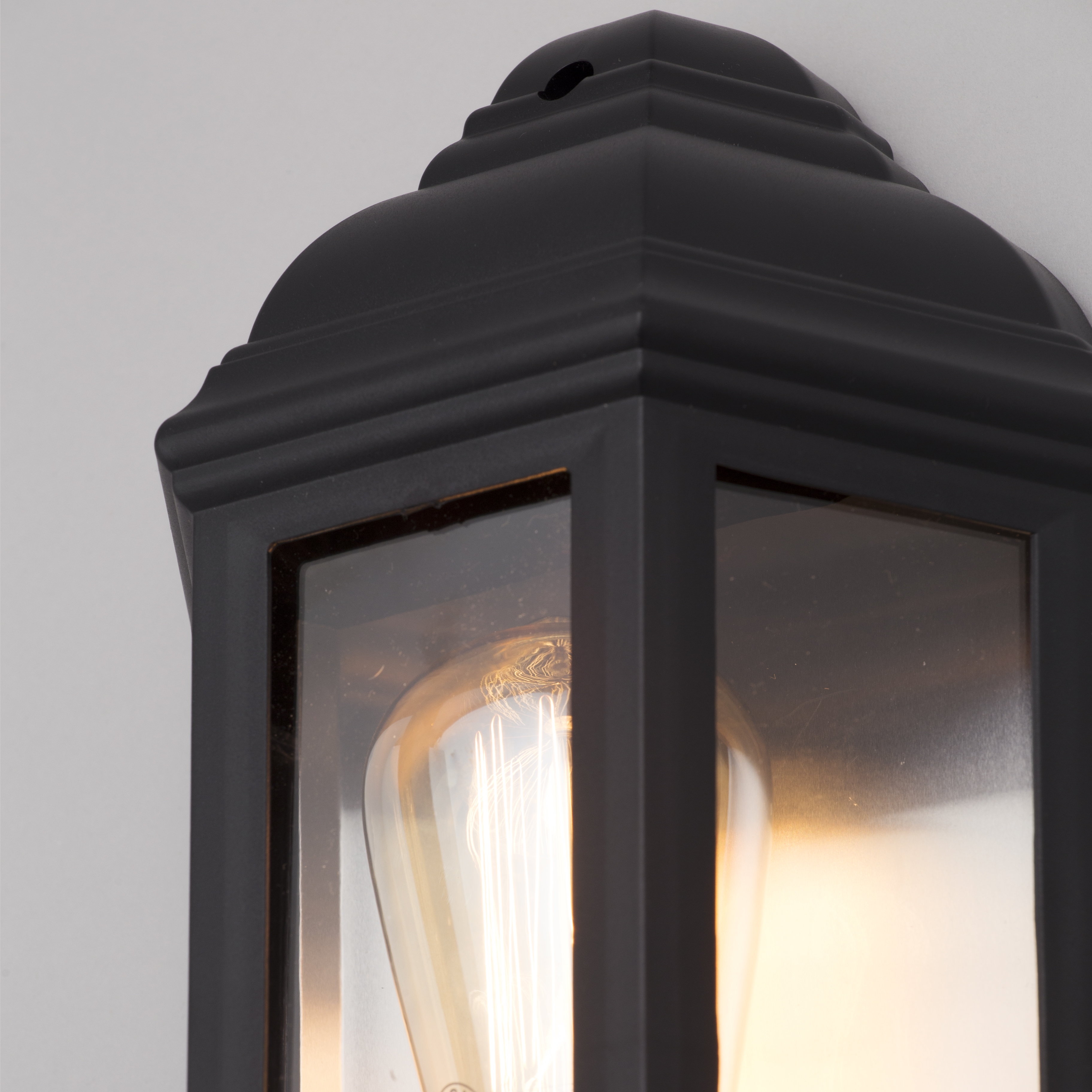 Bangor Outdoor 3 Side 1 Lt Wall Lantern Victorian Style Garden Light Litecraft