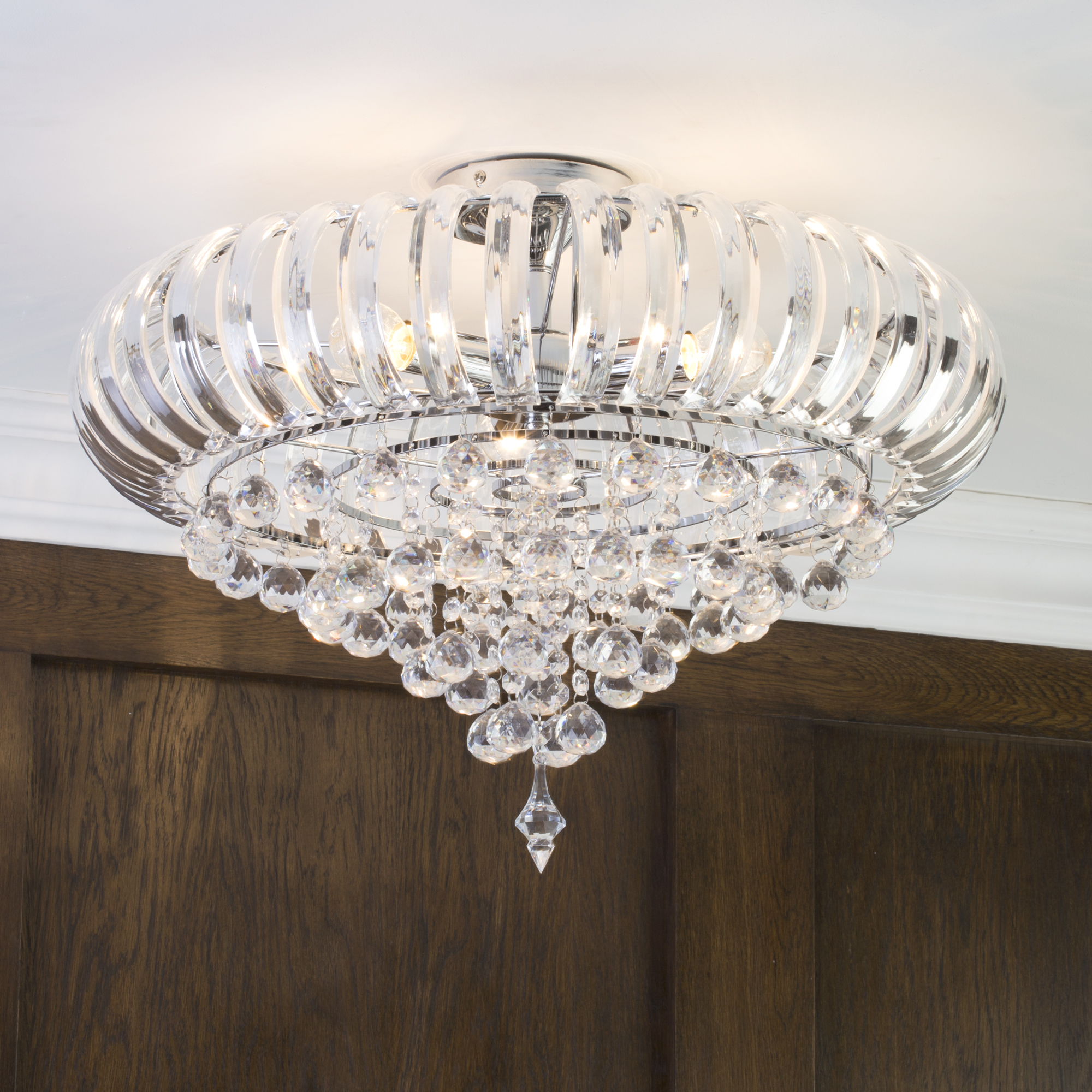 Crystal Droplets For Chandeliers