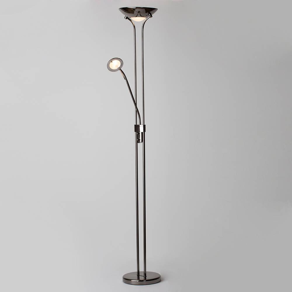 Mother Amp Child Floor Standing Lamp Uplighter Reading Light