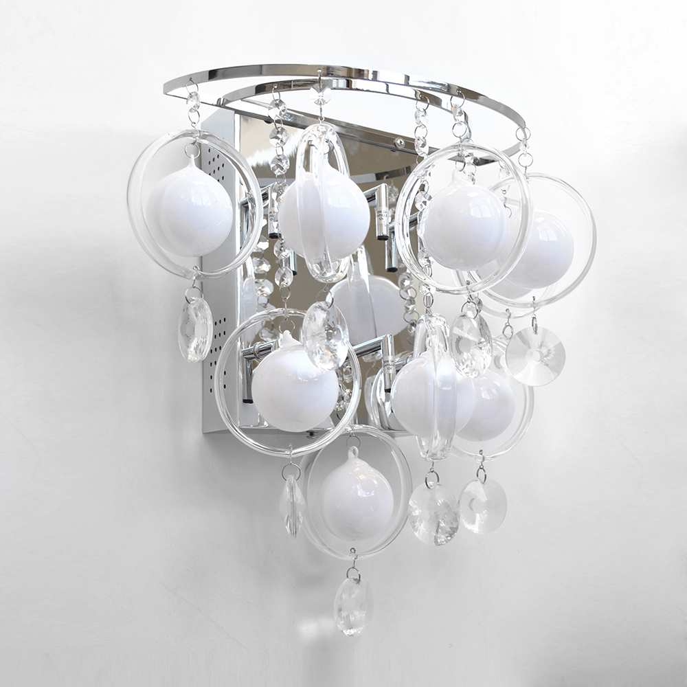 EX-STORE DISPLAY 5 Light Modern Home Wall Lighting With White ...