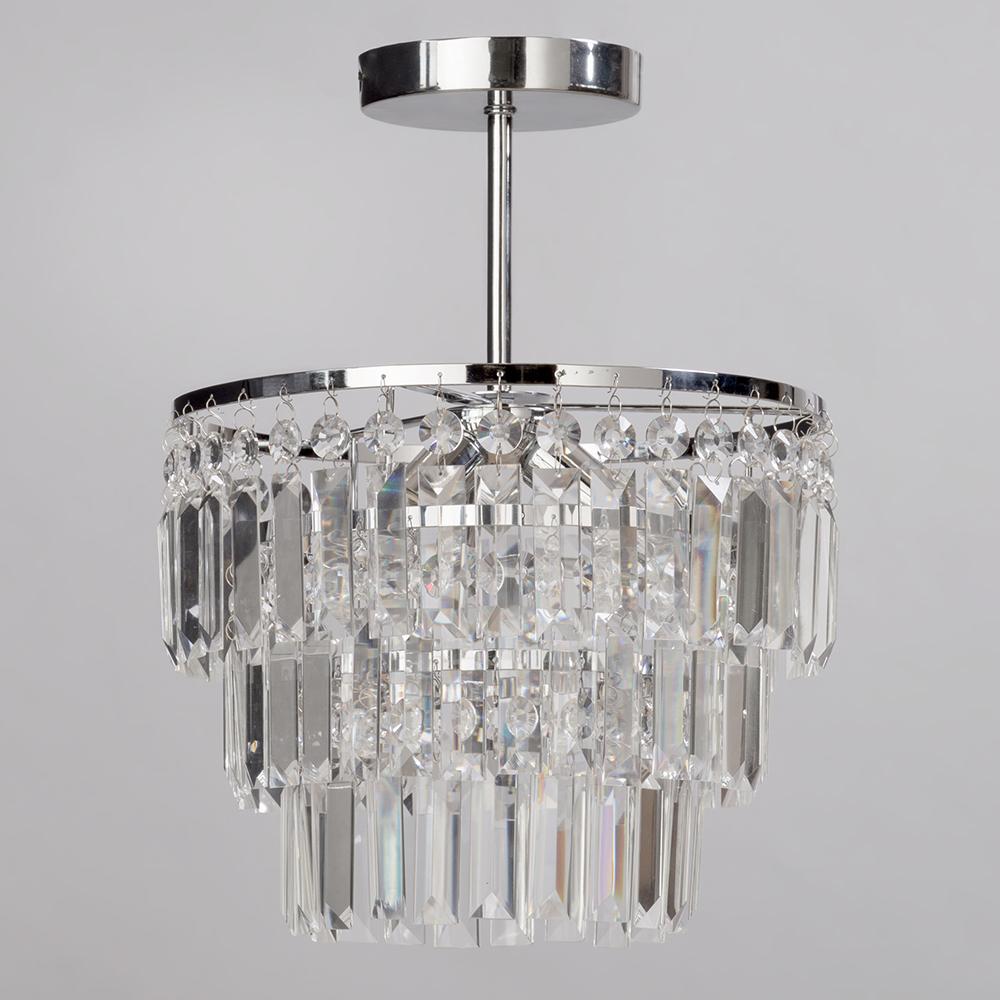 Bathtub Chandelier: Decorative Bathroom Wall Light, Semi Flush, Chandelier