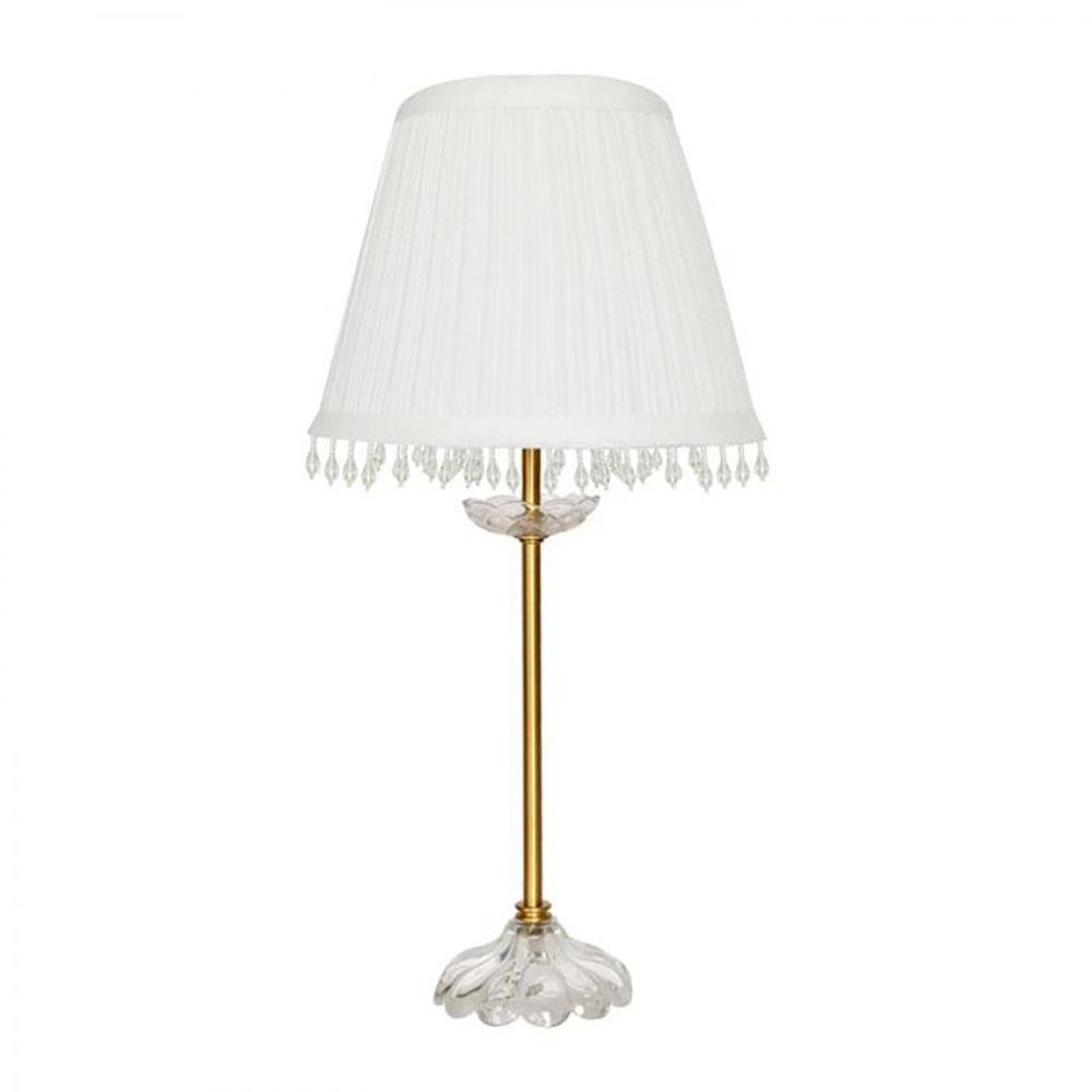 Pleated Lamp Shades For Table Lamps: Victorian Style Table Lamp W/Pleated Shade Home&Bedside
