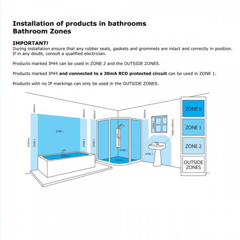 Litecraft Vara Chrome IP44 Curved 3 Arm Crystal Effect Bathroom Chandelier Light | eBay