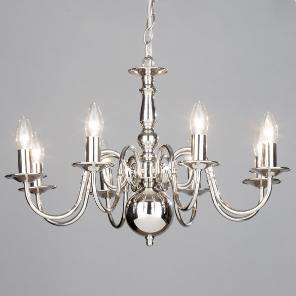 Modern Arm Chandelier: 2, 5, 8 Arm Chandelier & Wall Light Modern Home Light